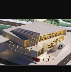 Conceptual Model Architecture, Architecture Building Design, Parametric Architecture, Architecture Concept Drawings, Cultural Architecture, Stairs Architecture, Futuristic Architecture, Government Architecture, Deconstructivism