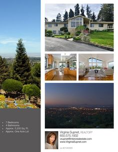 Coveted location with privacy and views in mind, this prime one-acre lot is one of the best in all of Woodside Hills. With its elevated position, the views are exceptional – spanning across the San Francisco Bay from the Bay Bridge to the Stanford tower and Silicon Valley.