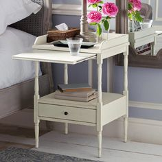 Drawer Plans Bedside Table With And Shelf White Woodworking