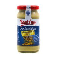 """Bautzner Senfspezialität """"Meerrettich Senf"""""""