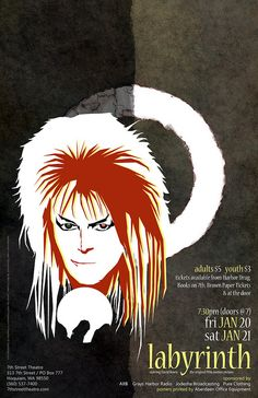 1986's Labyrinth starring David Bowie