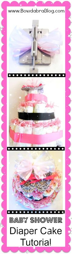 How to Make a Diaper Wreath- featured craft today! How fun!
