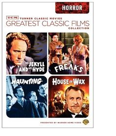 TCM Greatest Classic Films Collection: Horror (House of Wax 1953 / The Haunting 1963 / Freaks / Dr. Jekyll and Mr. Hyde 1941) DVD ~ Vincent Price, http://www.amazon.com/dp/B002945DUW/ref=cm_sw_r_pi_dp_UpzBtb0G5KKZB