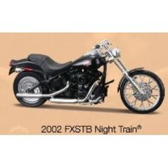 Now available from uk diecast models H-D 2002 FXSTB Night Train