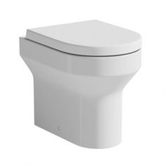 Oakley back to wall toilet with soft close seat offer pack