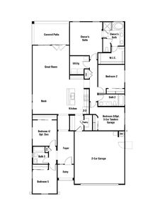 3570 Barbaro 1 800 Sq Ft 1 Story 4 Bedrooms 2 Bathrooms Dream Floor Plans