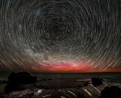 After shooting the sunset in Warrnambool I thought I'd head over Port Fairy way to try some star trails when I was unexpectedly photo bombed by the Aurora Australis this is a combination of 108 exposures with a samyang 14mm at f2.8 iso 4000 for 30sec each  #destinationportfairy #longexposure #wow_australia #photooftheday #ig_australia #liveinvictoria #craigrichards3284 #stars #startrails #seascape #oztourguide #australiagram #australia #victoria #greatoceanroad #seegor by…
