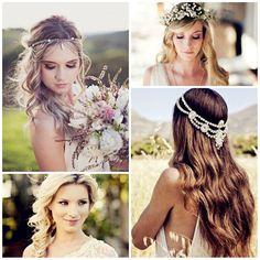 Boho hair #watters #hair #wedding www.pinterest.com/wattersdesigns/