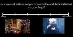 On a scale from Sheldon to Lord Voldemort...