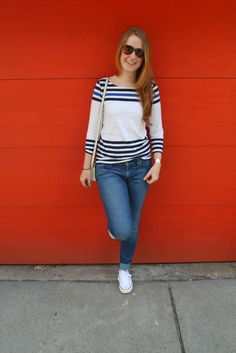 Casual and preppy outfit