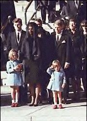 John Fitzgerald Kennedy, Jr. (November 25, 1960 – July 16, 1999), often referred to as John F. Kennedy, Jr., JFK Jr., John Jr. or John-John, was an American socialite, magazine publisher, lawyer, and pilot. The elder son of U.S. President John F. Kennedy and First Lady Jacqueline Lee Bouvier Kennedy, Kennedy died in a plane crash along with his wife Carolyn Bessette-Kennedy and his sister-in-law Lauren Bessette, on July 16, 1999.