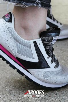 Women's Lifestyle Sneakers | From Brooks Heritage  Fashion-forward shoes from a running tradition. Iconic, vintage styles that go beyond the run. Heritage sneakers for women pay tribute to Brooks' running roots.