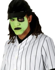 Baseball Furies Makeup Kit: Complete your Warriors' Baseball Costume with our officially licensed Baseball Furies Makeup Kit. Baseball Furies face paint kit with red, black, white, and green paint. Baseball Furies Costume, Baseball Costumes, Adult Costumes, Halloween Costumes, Baseball Dress, Theatrical Makeup, Costume Shop, Makeup Kit, Black And White