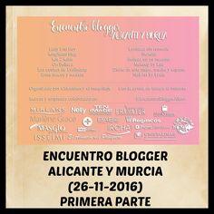 Hola bombones!!!! El pasado 26 de noviembre, tuve el placer de poder asistir al Encuentro Blogger Alicante y Murcia, y hoy os quiero contar como fué el evento, en éste primer post. Os espero en el blog con todos los detalles. Besotes!!!! #EncuentroBloggerAliMur #lascositasdeevabeauty #blogger #blog #beautyblogger #encuentroblogger #eventoblogger #bloggerespaña #belleza #beauty #maquillaje #makeup