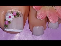 Fall Toe Nails, Pretty Toe Nails, Cute Toe Nails, Pretty Toes, Best Toe Nail Color, Fall Nail Colors, Pedicure Nail Art, Toe Nail Art, Toenail Art Designs