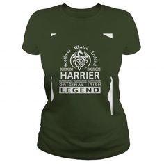 Awesome Harrier Dogs Lovers Tee Shirts Gift for you or your family your friend: HARRIER Original Irish Legend Name  (Copy) Tee Shirts T-Shirts