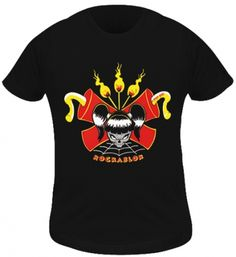 T-Shirt Kidz Fille ROCKABLOK - Dynamite