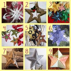9 Star Projects for Christmas · Home and Garden   CraftGossip.com