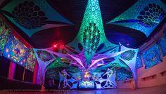 Trip2 2018, Wetzikon,Switzerland  Elemental Crew decorations, Ufo Bufo, Czech republic  #psydeco PSYCHEDELIC UV DECO ARTIST #fluoro #psytrance #uvactive #uv  https://www.facebook.com/elementaldecocrew/  https://www.facebook.com/ufobufo.eu