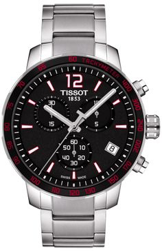 Tissot T095.417.11.057.00 - Who doesn't like Swiss Made watches? This model is no exception.