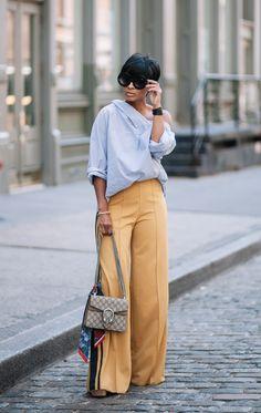 ALICE & OLIVIA X TRESEMME  Pants Zara Top Kyrz's Closet Handbag Gucci Fashion look by Kyrzayda