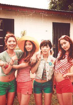 Girls Generation - Sooyoung, Seohyun, Taeyeon & Yoona <3