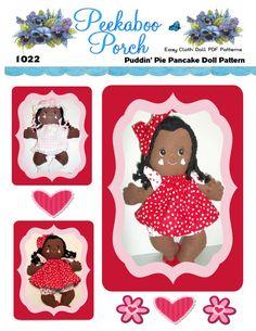 Easy Cloth Rag Doll PDF Pattern Puddin' Pie 15