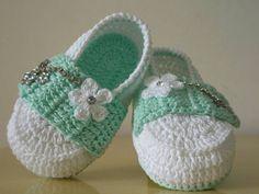 Sapatilha Little Doll verde menta R$ 25,00