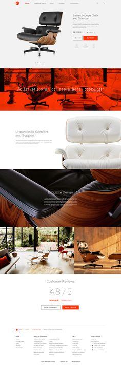 Eames Lounge Chair by Ronnie Johnson