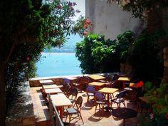 Romantic place Romantic Places, Corsica, Patio, Outdoor Decor, Home Decor, Decoration Home, Terrace, Room Decor, Porch