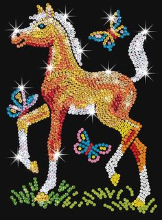 Sequin Art Junior Foal 0905 KSG | Hobbies