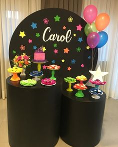 Image may contain: indoor 14 Birthday Party Ideas, Dance Party Birthday, Neon Birthday, 10th Birthday, Birthday Parties, 70s Party, Disco Party, Fiesta Party, 80s Party Decorations