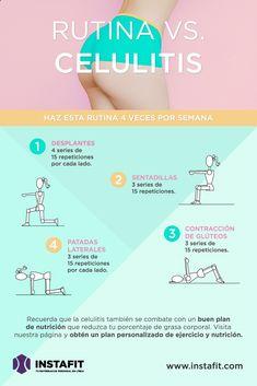 Rutina para disminuir la celulitis. #FueraPareo #Workout #Celulitis