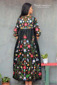 Teen Fashion, Boho Fashion, Conservative Outfits, Amarillis, Folk Clothing, Bohemian Hairstyles, Embroidered Jacket, Embroidery Dress, Colorful Fashion