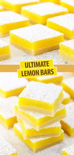 Lemon Dessert Recipes, Lemon Recipes, Sweet Recipes, Baking Recipes, Bar Recipes, Easy Lemon Tart Recipe, Freezer Recipes, Freezer Cooking, Amigurumi