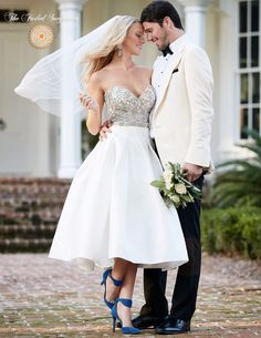 Vintage Retro Style Beaded Wedding Dress – Available up to Size 26W – The Faded Sunflower