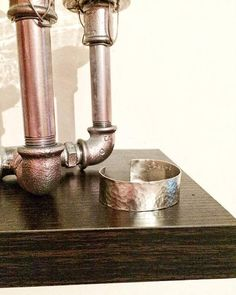 Check out this item in my Etsy shop https://www.etsy.com/listing/537879530/hammered-cuff-bracelet