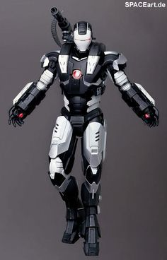 Iron Man 2: War Machine - Special Version, Fertig-Modell ... http://spaceart.de/produkte/irm004.php
