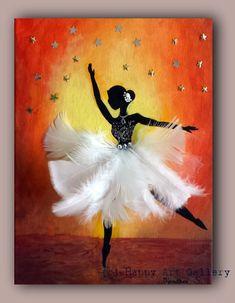 SOLD- Ballerina- gift for kids ballerina decor kids room decor ballerina room decor girl room decor baby art ballerina art ballerina nursery - Kids Artwork, Kids Room Art, Art For Kids, Ballerina Nursery, Ballerina Art, Art Ballet, Nursery Room Decor, Girl Nursery, Nursery Art