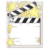 Hollywood Stationery Letterhead MyExpression