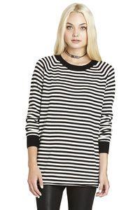 Mini Striped Boyfriend Sweater