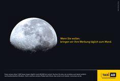 TAXi-AD Produkt-Kampagne für Taxen als Werbefläche