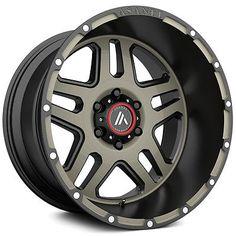4-Asanti Off Road AB809 17x8.5 6x139.7/6x5.5 +25 Black/Machine/Tint Wheels Rims