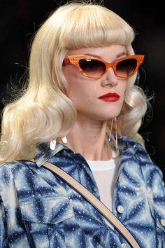 a79571b0dde Christian Dior. Vintage HairstylesSpring HairstylesCat Eye GlassesGet ...