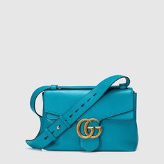 Gucci GG Marmont leather shoulder bag