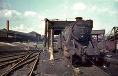 Stockport Edgeley Cheshire 28th April 1968 Diesel Locomotive, Steam Locomotive, Steam Railway, Abandoned Train, Water Valves, British Rail, Train Engines, Train Car, Steam Engine
