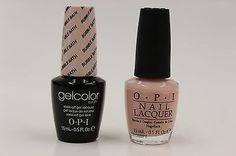 OPI GELCOLOR + NAIL LACQUER - (GCS86 + NLS86) BUBBLE BATH .5oz