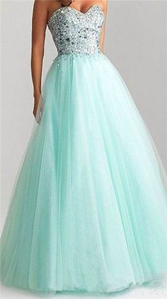 Mint Green Prom Dress,Charming Prom Dresses,Tulle Prom Dress with Beaded Long Evening Dress,Party Dress for Prom Poofy Prom Dresses, Pretty Prom Dresses, Prom Dress Stores, Ball Gowns Prom, Tulle Prom Dress, Ball Gown Dresses, 15 Dresses, Dance Dresses, Homecoming Dresses