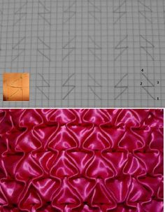 Diy Crafts Qoster Diy Crafts 647322146425349140 P - Diy Crafts - hadido Smocking Tutorial, Smocking Patterns, Sewing Patterns, Ribbon Embroidery, Embroidery Stitches, Embroidery Designs, Techniques Couture, Sewing Techniques, Sewing Hacks
