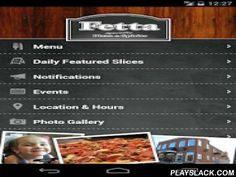 Fetta Specialty Pizza  Android App - playslack.com ,  A guide to Fetta Specialty Pizza & Spirits in Owensboro, Kentucky.Fetta – Italian for 'slice' – serves delicious specialty pizza hand-tossed right before your eyes! Enjoy your slices with a breathtaking view of the Ohio River and the new Smothers Park.The Fetta app features:• Daily Featured Slices• Menu• Facebook• Events• Galleries• Location• Announcements delivered via Push Notification